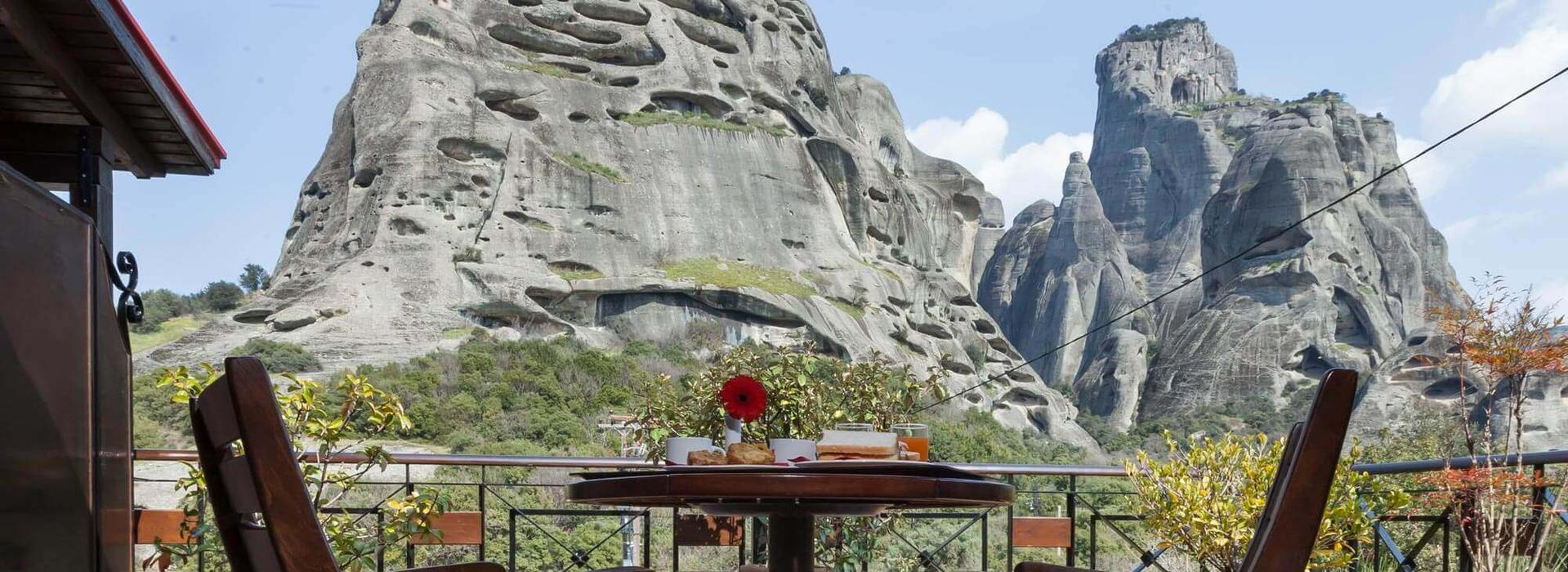 Double/Twin Room | Meteora View